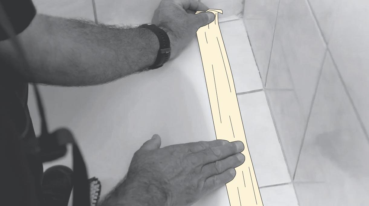 Enmascarar superficies para protegerlas de la pintura