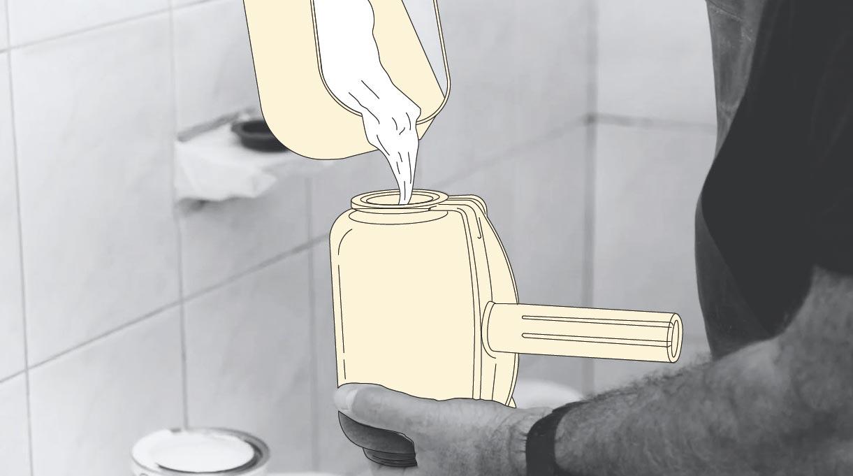 Usar rodillo easy paint para pintar el cielo del baño