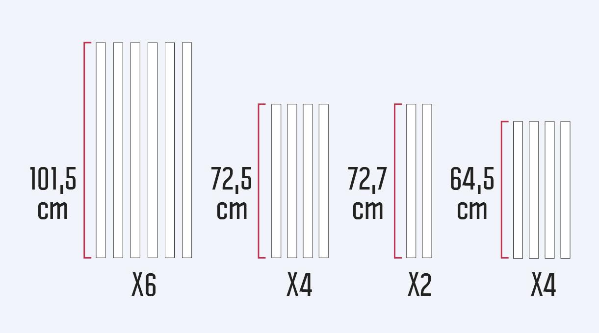 Cómo hacer un invernadero casero - medidas maderas