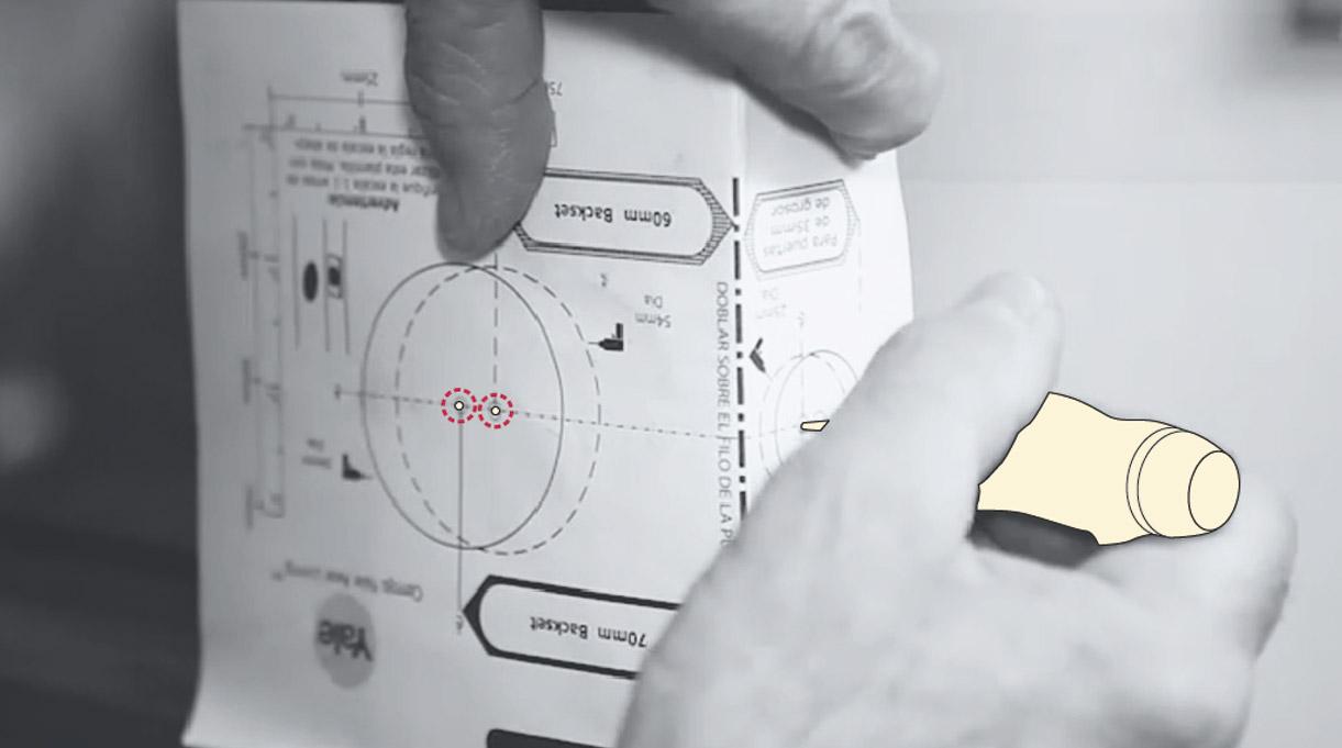 cerradura digital - marcar posición