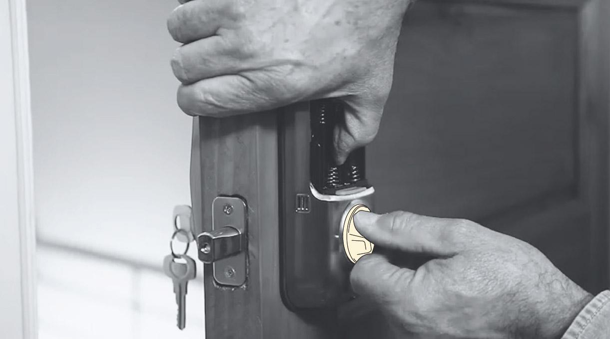 como instalar una cerradura digital - comprobar funcionamiento