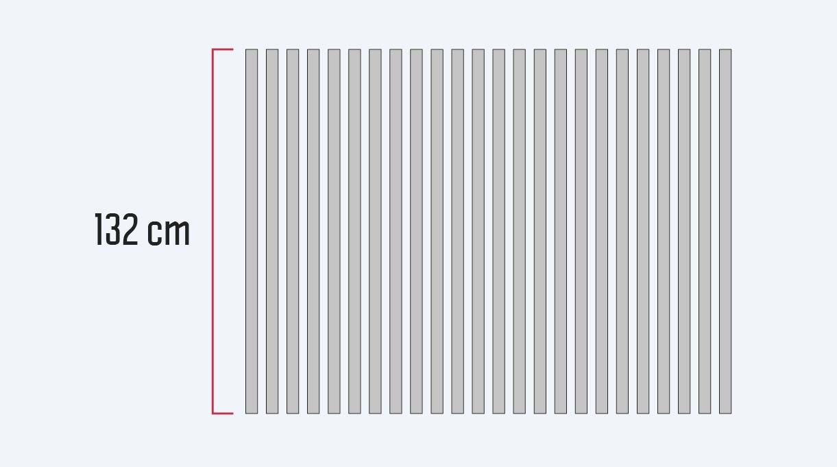 dimensionar los tubos del toldo para terraza