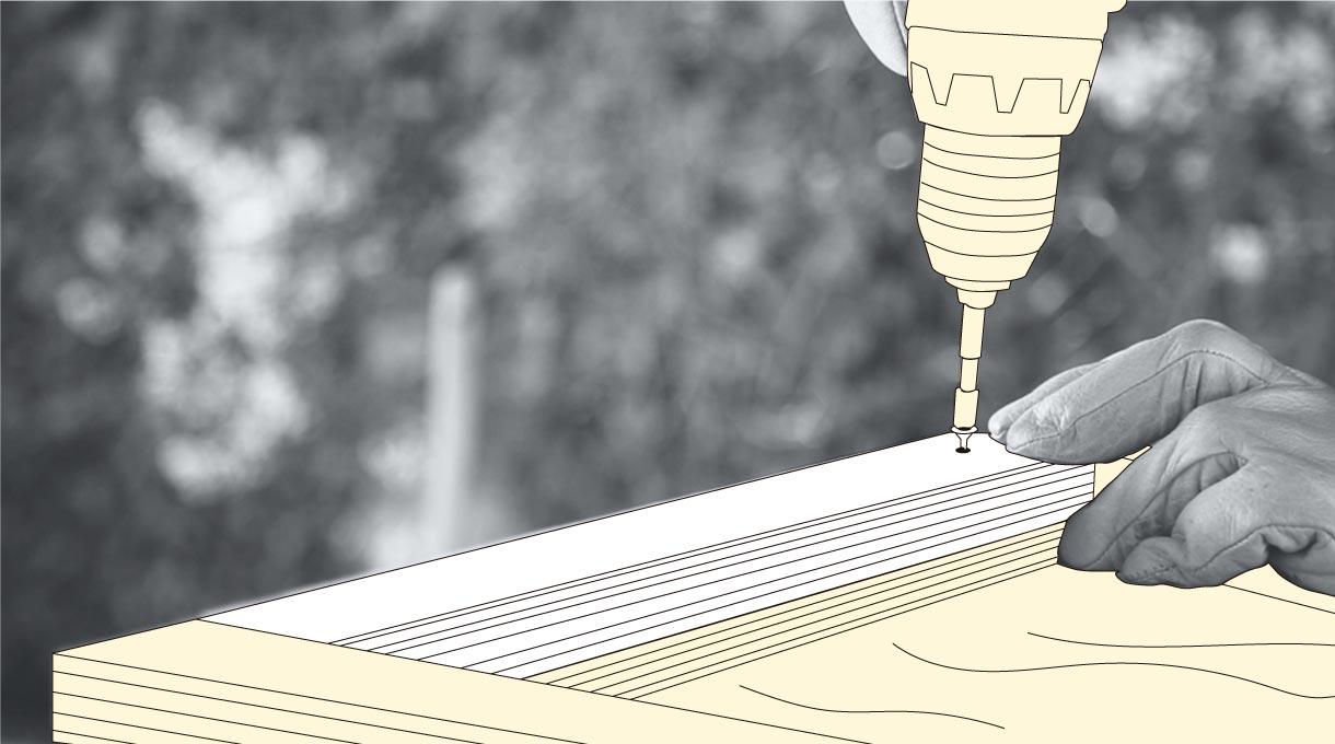 Armar zócalo y poner la pilastra del mueble para zapatos