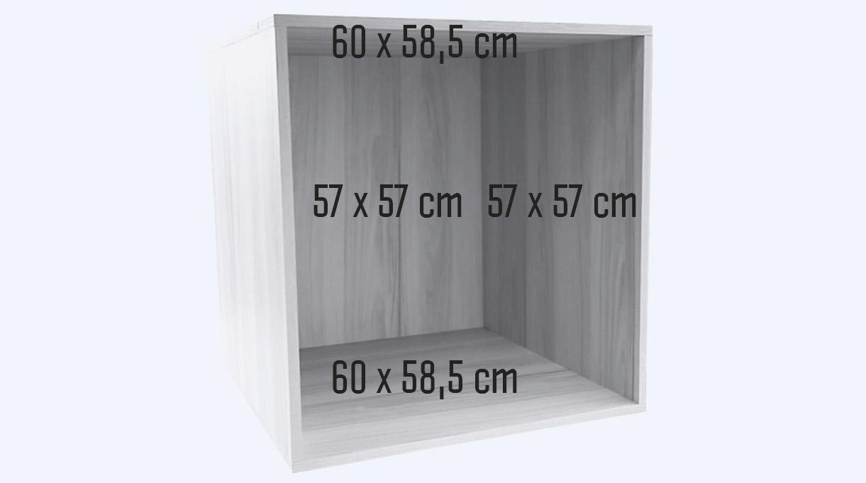 dimensiones del segundo cajón