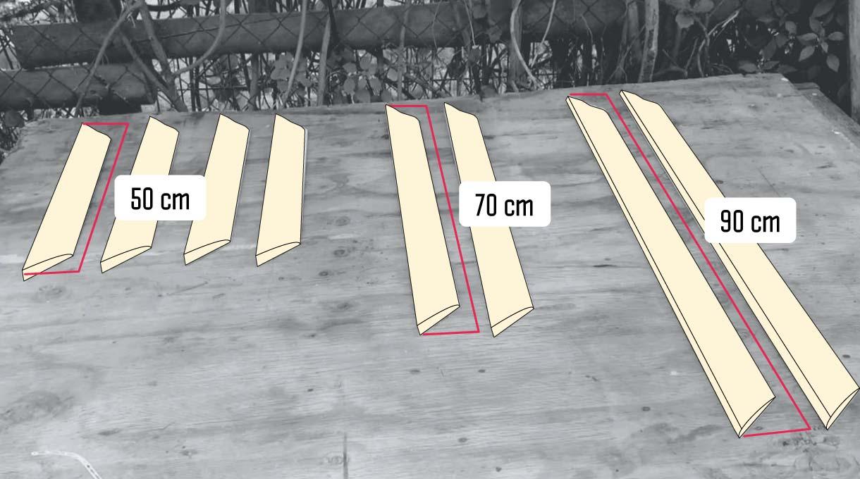 medidas de las molduras para las puertas