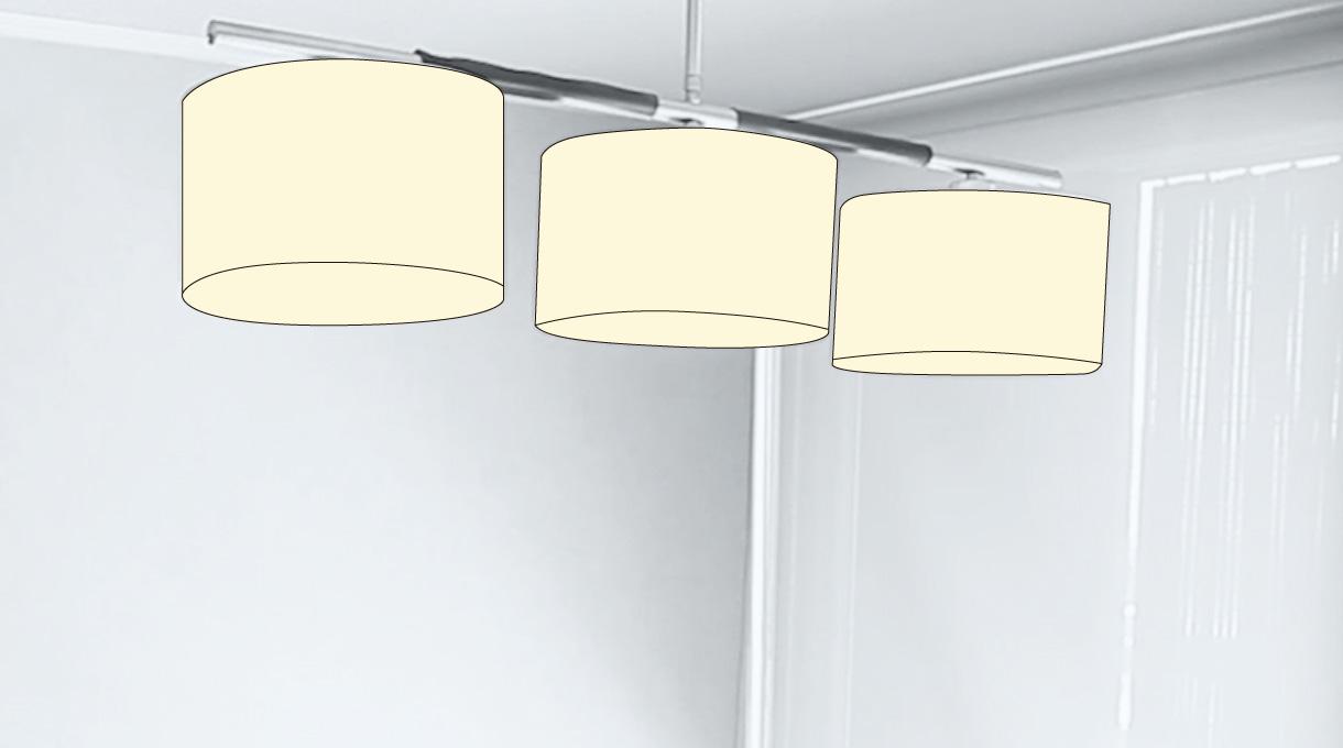 luces del comedor que se pueden activar con el interruptor smart