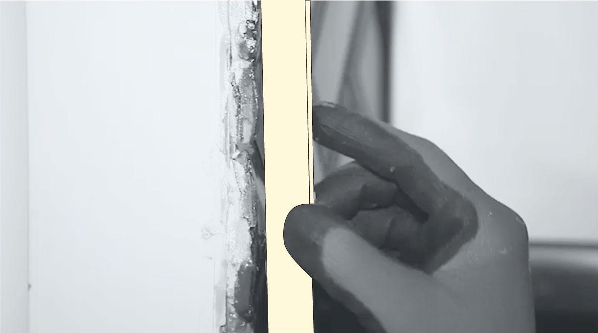 cubrir con perfiles de aluminio los cortes de la cerámica