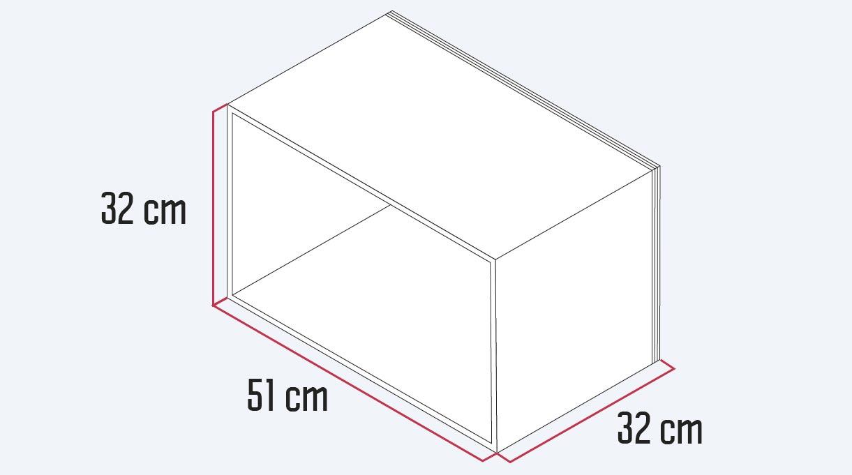 dimensiones de ancho, alto y profundidad del velador