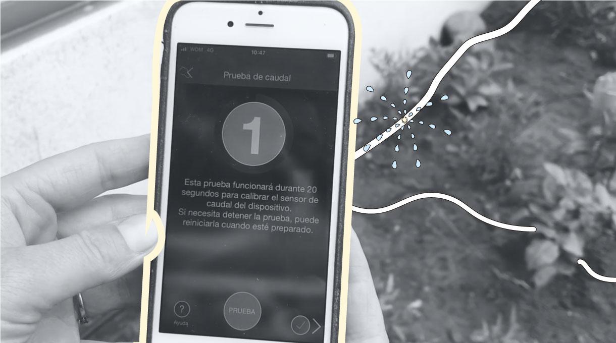 probar funcionamiento de la app en el celular