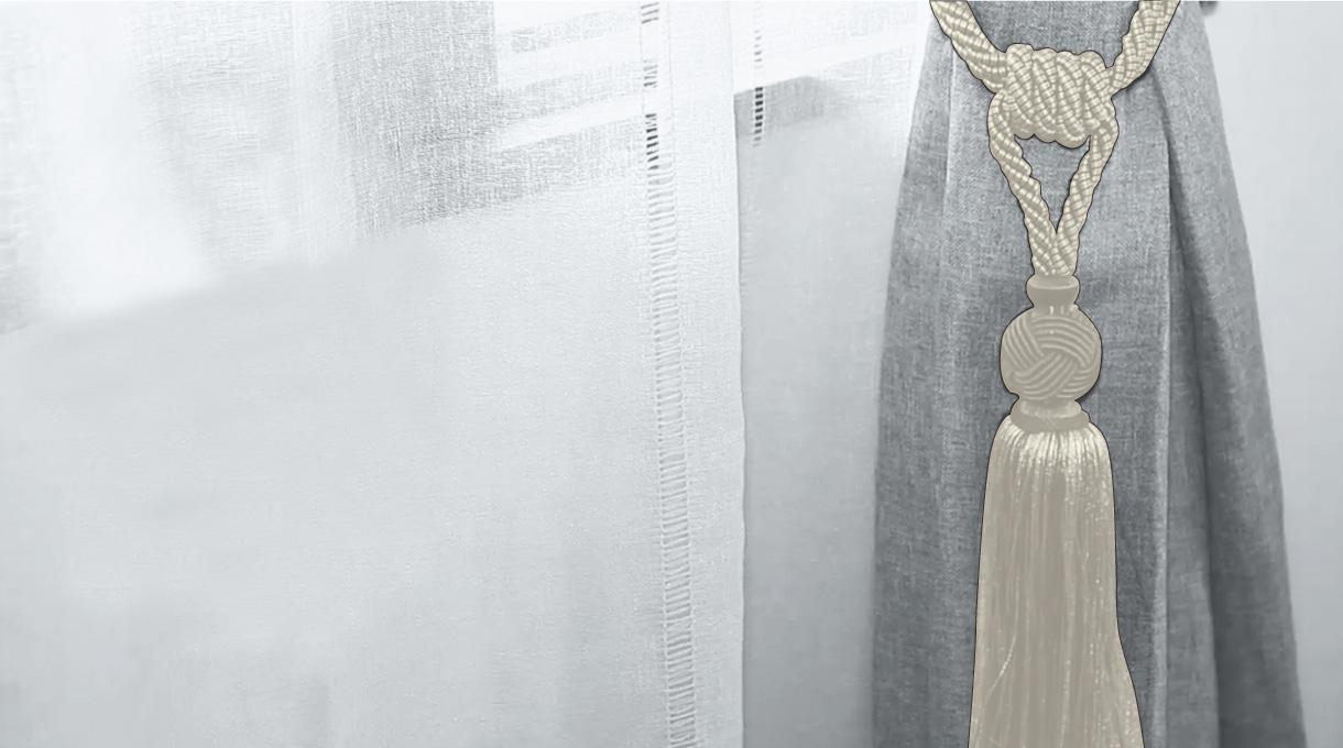 colocar abrazadera de cortina