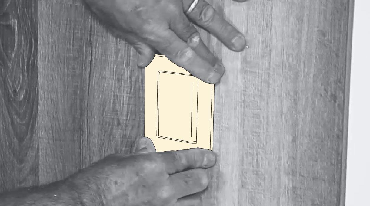 Colocar la tapa del interruptor