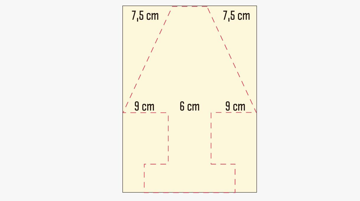 medidas de la pantalla de la lámpara reciclada