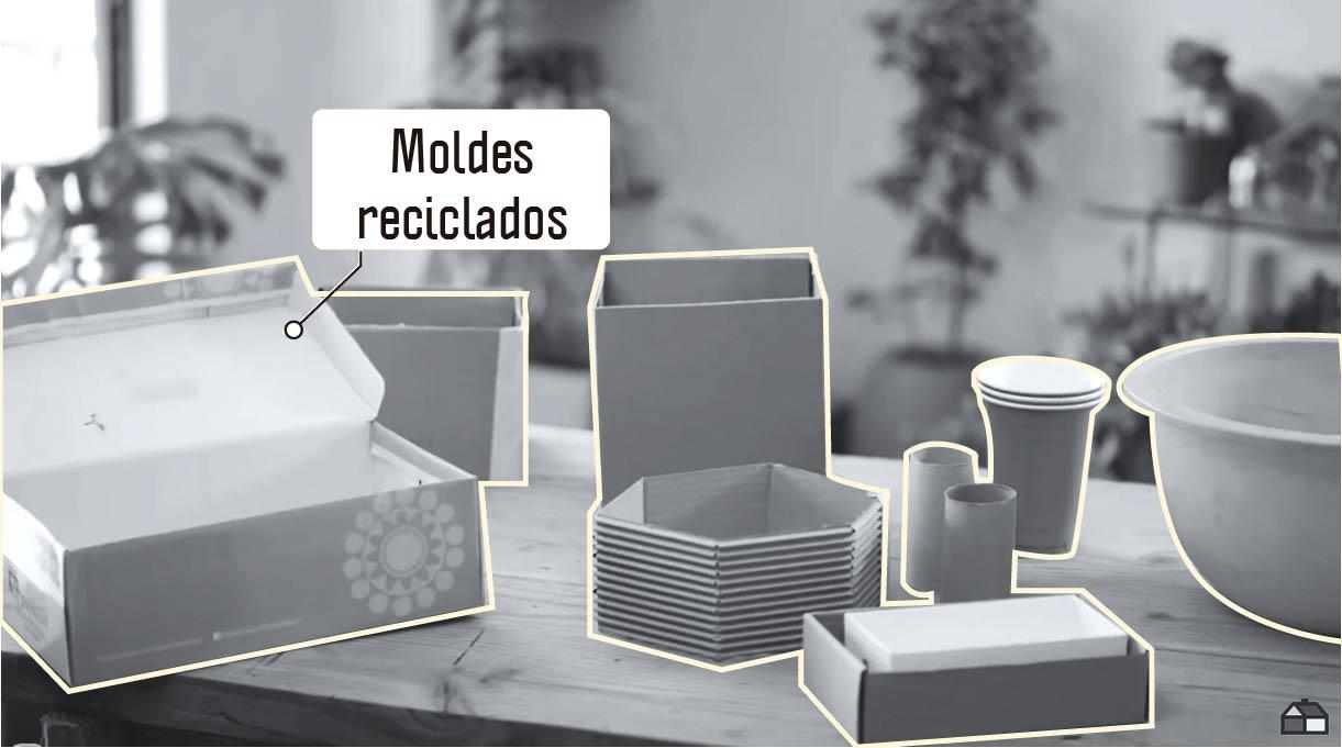 moldes reciclados