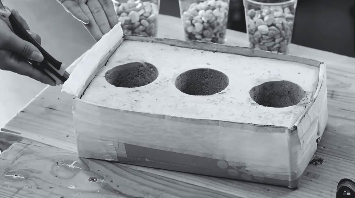 sacar los vasos del molde