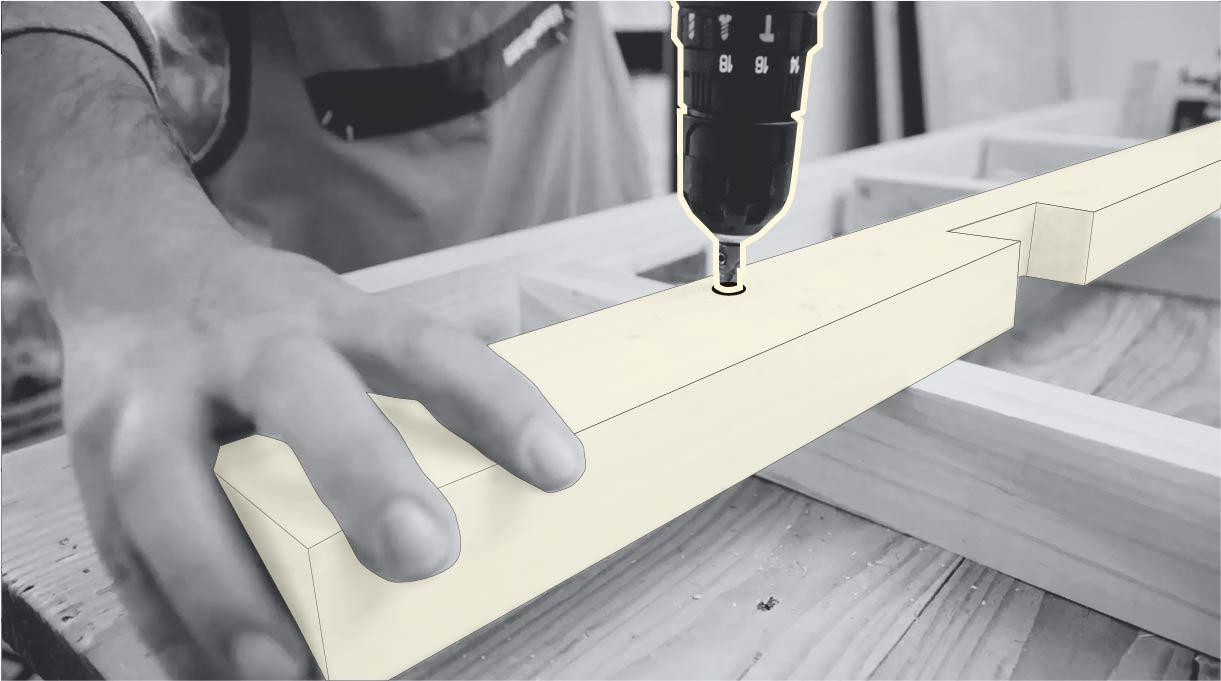avellanar la madera