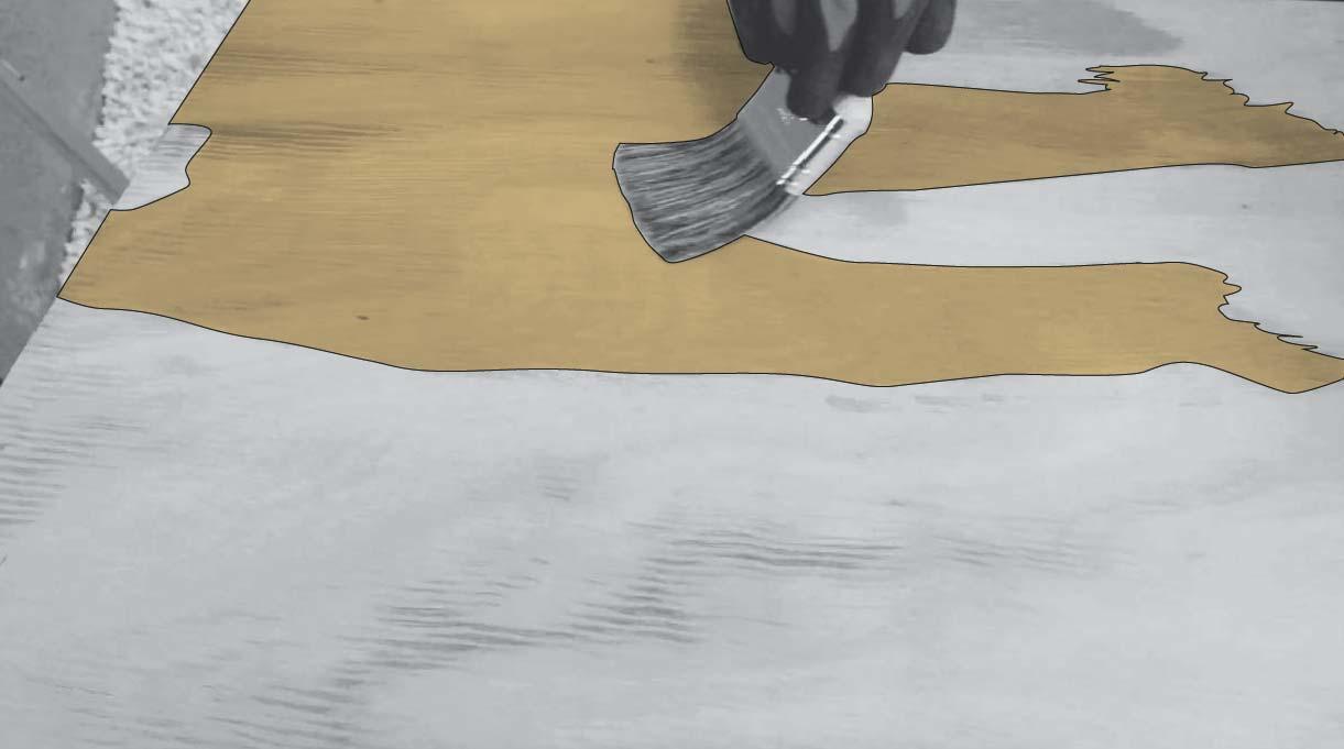 barnizar la cubierta del escritorio industrial