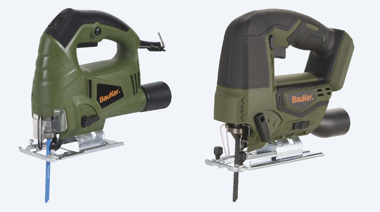 2 modelos de sierra caladora