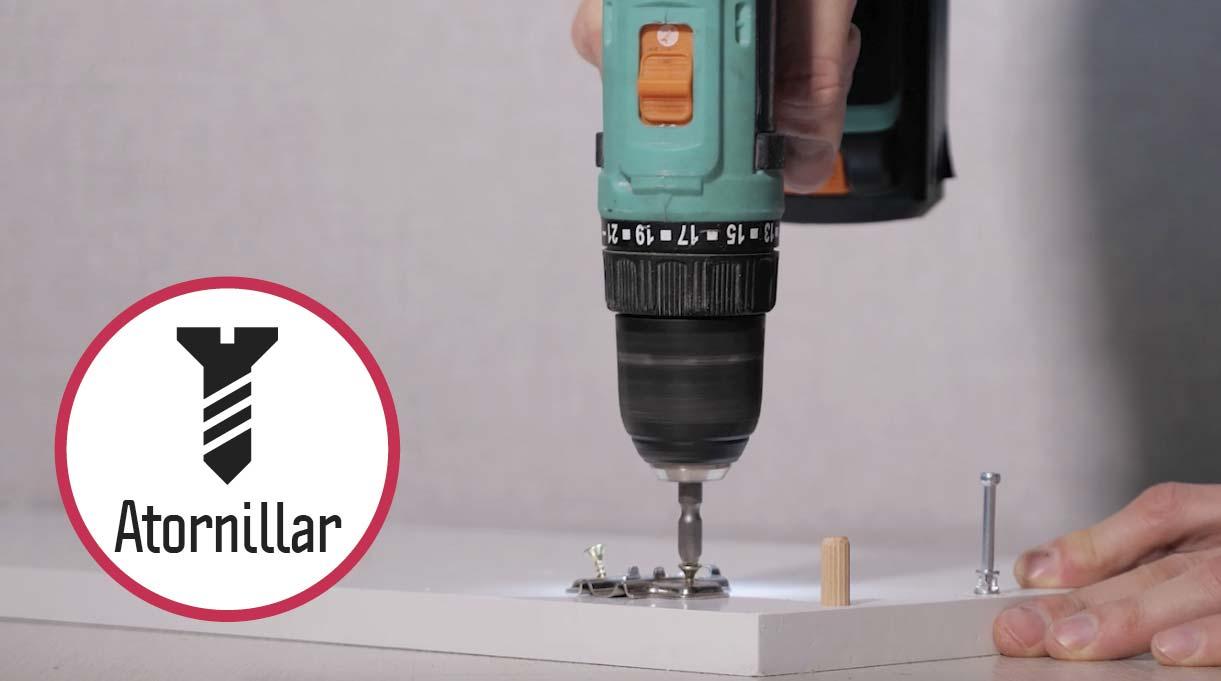 el taladro atornillador sirve también para atornillar