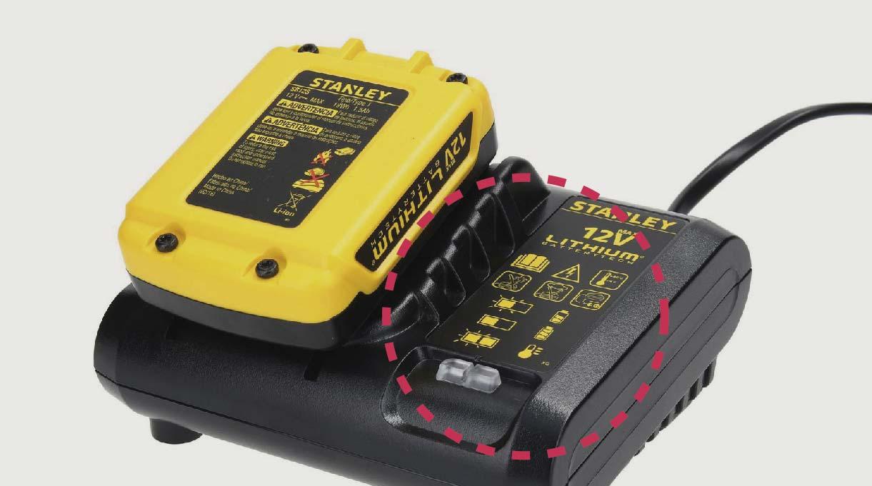 Ya que se trata de una herramienta que ocupa batería, te recomendamos que siempre ocupes el taladro hasta que se descargue por completo. Luego, al momento de cargarla, hazlo completamente